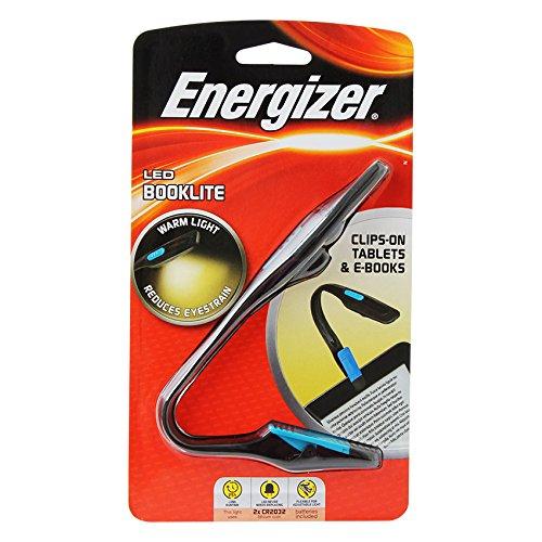 Energizer BKFN2BU Booklite Clip Book-Lampe Led Taschenlampe-echt Energizer Lithium Led