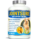 JOINTSURE Joint supplements for dogs. Advanced formula with Green Lipped Mussel, Glucosamine & Natural Chondroitin for dog joint care. Aids stiff joints, supports joint structure & maintains mobility.