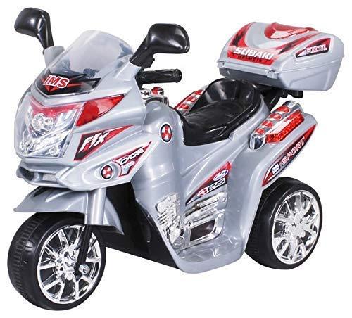 Actionbikes Motors Kinder Elektroauto Motorrad C051 Elektro Motorrad Kinderfahrzeug (silber) - 2-rad Razor Roller
