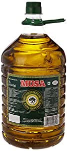 Musa Extra Virgin Olive Oil Pet Jar, 5L (Buy 1 Get 1 Free)