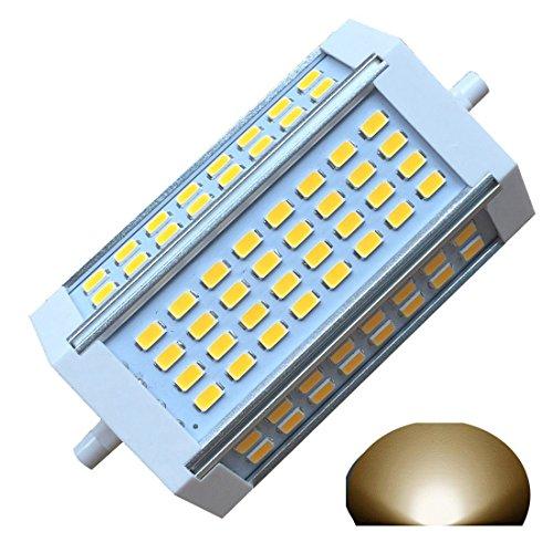 R7s-J118 118 mm dimmbar Glühbirne 30 W Warm Licht 3000K AC220V 3000LM, doppelte Enden J-Floodlight, R7s, 200 W, 300 W, 400 W Halogen-Ersatz 30w Stehlicht (3000 K Warmweiß. - Glühbirne Typ J