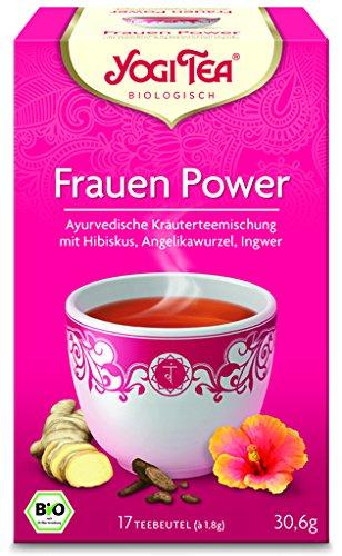 Yogi Frauen Power BIO 6 Packungen à 17 Teebeutel