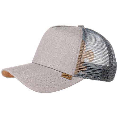 Linen Snapback Mesh Cap Djinns casquette trucker baseball cap