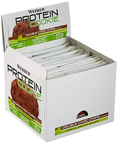 Bar Double Chocolate Cookie (Weider Protein Cookie, Double Choc Chips, 2160 g)