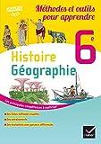 Histoire-Géographie 6e éd. 2016 Méthodes et outils pour apprendre - Cahier de l'élève