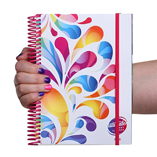 ColourBurst Design A5 Ultimate Diary Planner 2018: Goal setting, year-at-a-glance, to do list management, note pages and more. Designed with women in business in mind (Colour Burst)