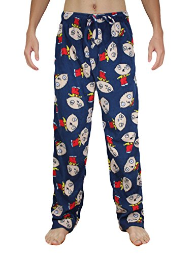 Family-Guy-Stewie-Hommes-Polar-Fleece-Pantalons-de-nuit-pyjama