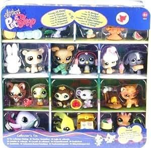 Hasbro - Lot de 15 petshop - Boite métal Nouveautés 2009