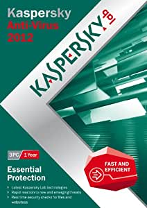 Kaspersky Anti-Virus 2012 (3 PC, 1 Year subscriptions) (PC)
