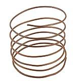 sourcingmap 1,4M Länge 1,8 mm 32g Durchmesser aus Kupfer Ton Kältetechnik Rohr Kabel