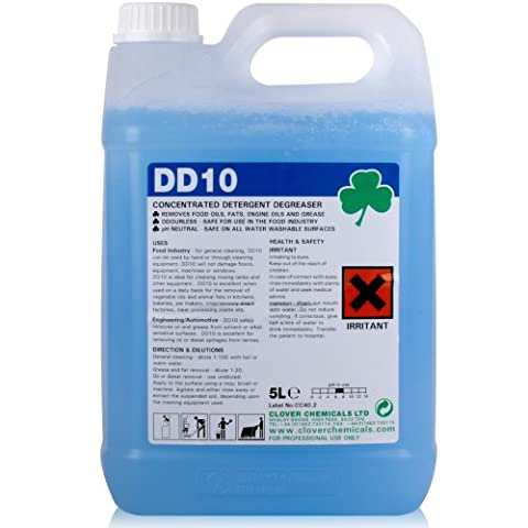DD10 Concentrated Degreaser Detergent (5L).