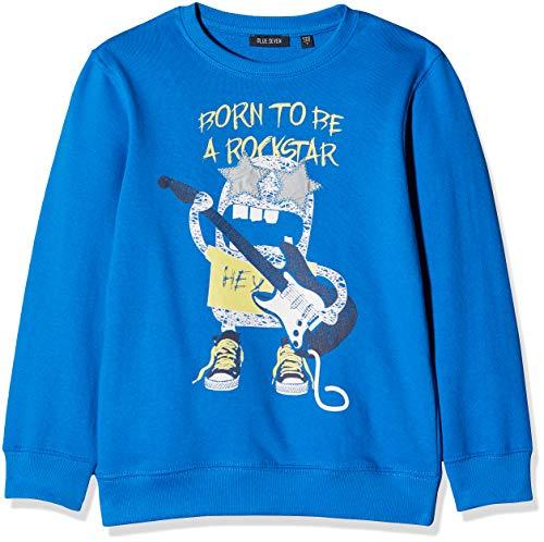 Blue Seven Jungen, Rundhals Sweatshirt, Blau (Ocean 531), Herstellergröße: 104