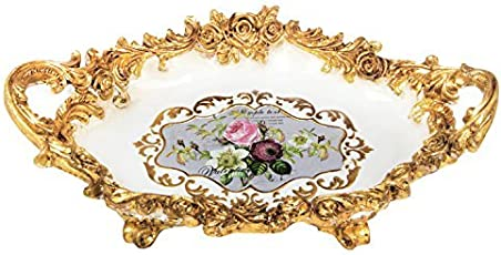 Kulture Label Palace of Versailles inspired gold Fruit Plate--multiuse vintage bowl