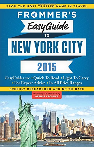 Frommer's Easyguide to New York City (Easy Guides)
