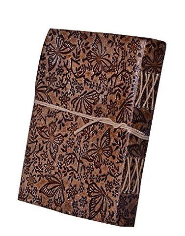 Purpledip Agenda en cuir/journal/ordinateur portable