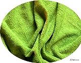 Wirklich Sumptuous Lime Grün Farbige Baumwolle