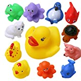 Wish Key Baby Bath Toys-Set Of 12 For Bo...
