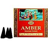 Räucherkegel Amber - Darshan - Indisches Räucherwerk