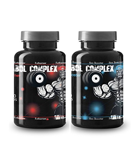 Anabol Complex Fat Burner und Sex Booster VargPower 200 Kapseln - 100% Soja-protein-booster