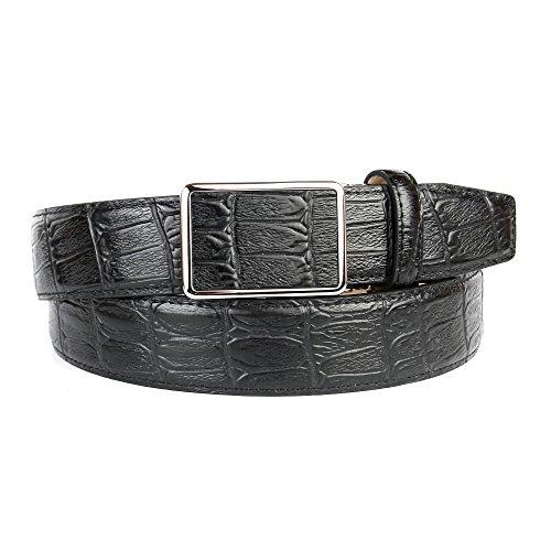 Anthoni Crown ceinture pour homme 3,5cm largeur, noir, 95-115см longueur ce8d3215e2a