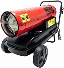 Diesel Kerosene Forced Space Air Bazooka Torpedo Heater 20 kW 69000 BTU/hr