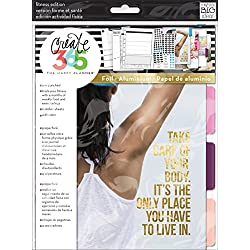 Unbekannt Me & My Big Ideas Schaffen 365Happy Planer Verlängerung Pack Fitness, Papier, Mehrfarbig, 23.9 x 19 x 0.6 cm