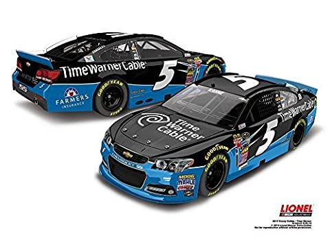 Lionel Racing CX55865TWKK Kasey Kahne #5 Time Warner Cable 2015 Chevy SS 1:64 Scale ARC HT Official NASCAR Diecast Car by Lionel