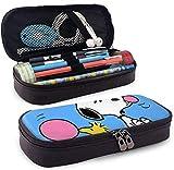 Astuccio per matite snoo-py Borsa per matite di grande capacità Astuccio per penne Cartoleria con portapenne con doppia cerniera per scuola/ufficio