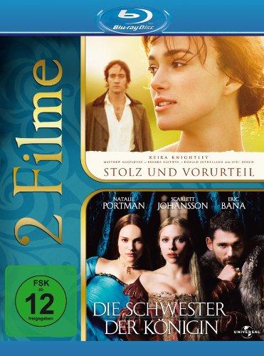 Stolz & Vorurteil / Die Schwester der Königin [Blu-ray]