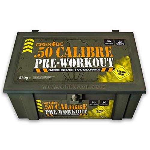 Grenade 50 Calibre Pre-Workout Booster
