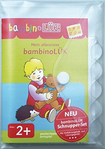bambinoLÜK-Sets: Mein allererstes bambinoLÜK-Set: Einführende Übungen für Kinder ab 2 Jahren