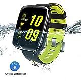 GV68Smart Watch 3,9cm HD LCD Display Silikon Strap, Armbanduhr Unterstützung 4.0Bluetooth IP68Wasserdicht Smartwatch genannten Kameras Passende für iOS und Android