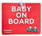 #8: Baby Dreams MBD Baby on Board, Large (Multicolor)