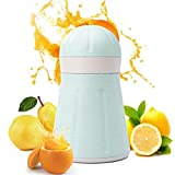 TAOtTAO 1pièce Barre manuel Drink Orange Citron agrumes Citron jus de fruits Juicer Squeezer NEUF, bleu, 11*8.5*18.2cm