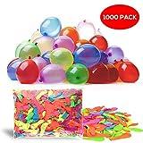 THE TWIDDLERS 1000 Globos de Agua de múltiples Colores - 8 Colores...