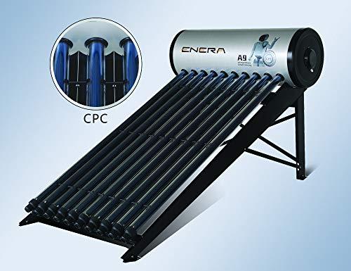 Calentador de agua solar para ACS (termosifón), HEAT PIPE, depósito 150 L, para 2-3 personas, tubos de 58mm x 1800mm