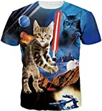 Best Lasers Cat - Kinchenet Unisexe Drôle 3D Impression Laser Cat Hip Review