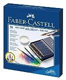 Faber-Castell 114238 ART GRIP Aquarelle Crayons de couleur 38 couleurs studio box