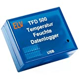 ELV Temperatur-Feuchte-Datenlogger TFD 500, Komplettbausatz