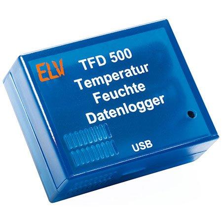 ELV Temperatur-Feuchte-Datenlogger TFD 500, Komplettbausatz -