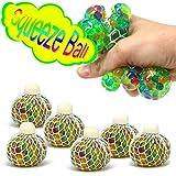 com-four 6X Anti Stress Ball para niños y Adultos, Bola de presión...