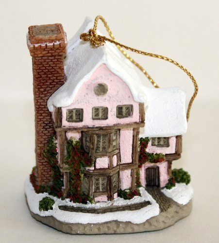 David Winter Cottages Mini Ornaments Suffolk House by John Hine -