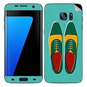 Theskinmantra Shoes Oxford SKIN/STICKER/DECAL for Samsung Galaxy S7