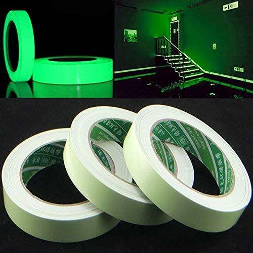 hahuha Toy Leuchtband selbstklebendes Leuchten in der dunklen Sicherheitsstufe Home Warnband -