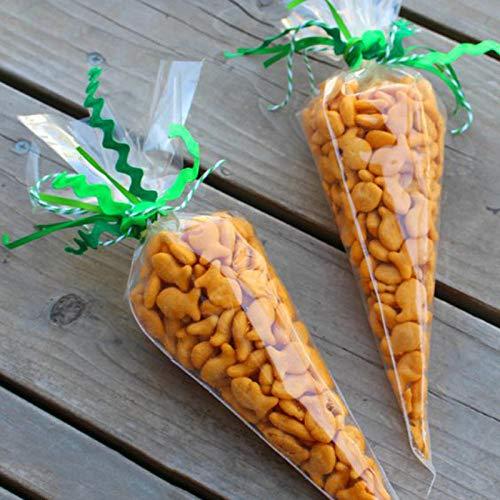Hausgemachte Halloween Behandeln Tasche - bjtgy 20/50 Stücke Ostern Dekoration Karotte