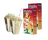 IRPot - 24 SCATOLINE BOX POP CORN + 500gr DI MAIS PER POP CORN SNACK FESTA PARTY