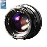 7artisans 35mm F1.2 APS-C Manual Fixed Lens for Fuji FX Mount X-A1, X-A2, X-AT, X-M1, XM2, X-T1, X-T2, X-T10, X-Pro1, X-E1, X-E2