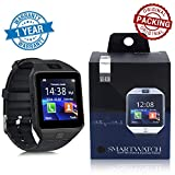 DZ09 Smart Watch with Bluetooth Dialer, Touchscreen Multi Function TF Card Support