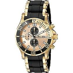 Invicta 1478 Sea Spider Reloj para Hombre acero inoxidable Cuarzo Esfera oro