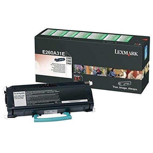 Lexmark 0E260A31E Tonerpatrone für E260/E360/E460 schwarz